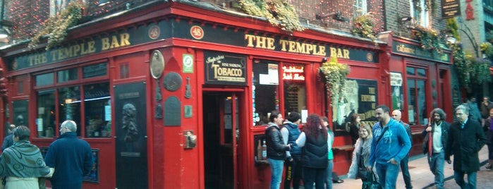Temple Bar Square is one of Dublin.