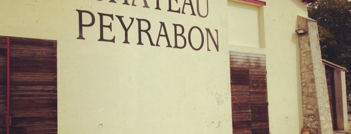 Chateau Peyrabon is one of สถานที่ที่บันทึกไว้ของ Jean-Marc.