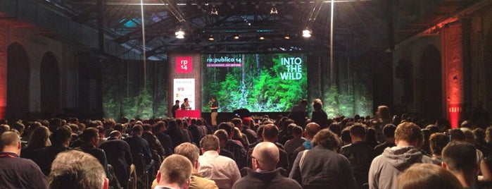Stage 2 | re:publica is one of Social Media Locations.