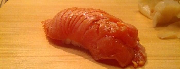 Tanoshi Sushi is one of NYC.