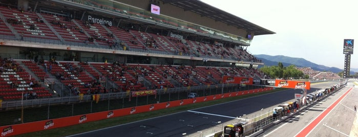 Circuit de Barcelona-Catalunya is one of outsiders....