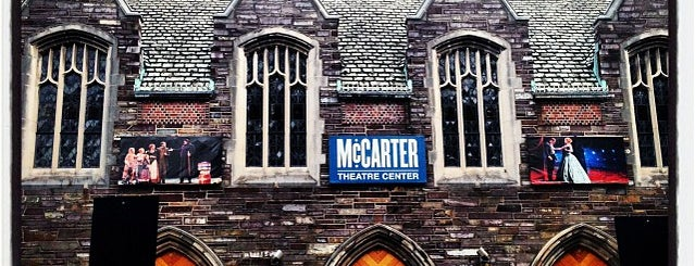 McCarter Theatre is one of Ivy League Tour.