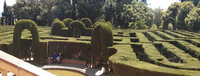 Parc del Laberint d'Horta is one of Barcelona Touristic places Done.
