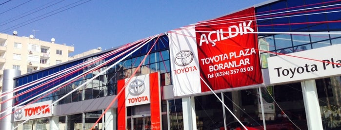 Toyota Plaza Boranlar is one of Orte, die Buğra gefallen.