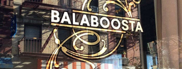 Balaboosta is one of Lieux sauvegardés par Adam.