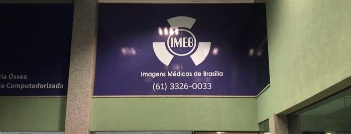 IMEB - Imagens Médicas de Brasília is one of Lieux qui ont plu à Marcos Aurelio.