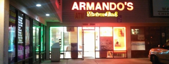 Armando's Mexican Food is one of San Diego.