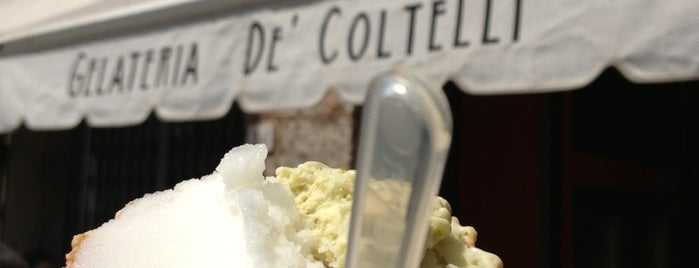 Gelateria De' Coltelli is one of bella storia (di casa).