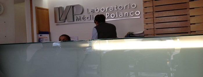 Laboratorio Médico Polanco is one of Hugo A.'ın Beğendiği Mekanlar.