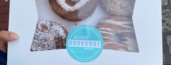 District Doughnut is one of Lugares favoritos de Leandro.