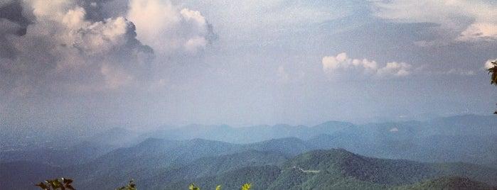 Mt. Pisgah is one of North Carolina.
