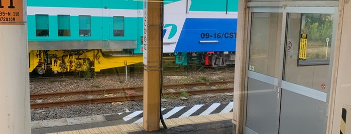 羽後亀田駅 is one of JR 키타토호쿠지방역 (JR 北東北地方の駅).
