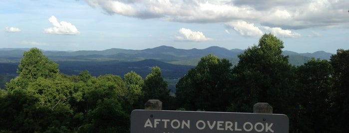 Afton Mountain is one of Charlottesville.