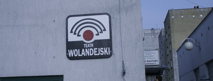 Teatr Wolandejski is one of Foursquare Specials in Poland.
