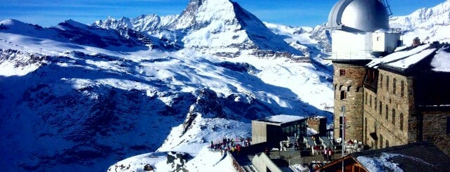 Gornergrat is one of Zermatt, Switzerland.