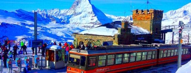 Gornergrat is one of Zermatt, Switzerland.