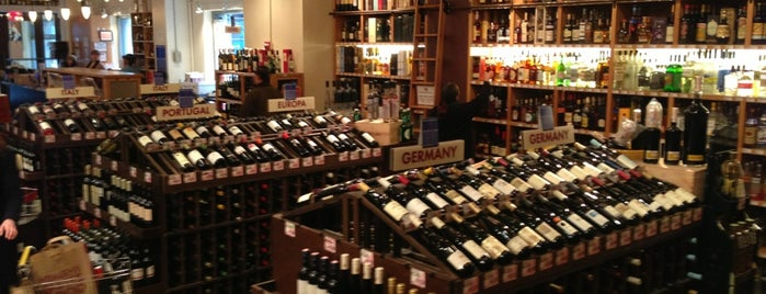 Union Square Wines & Spirits is one of NYC.