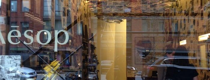 Aēsop is one of Best of New York (Manhattan + Brooklyn).