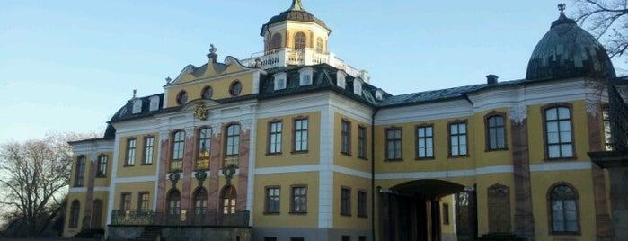 Schloss Belvedere is one of Die beliebtesten deutschen Denkmäler.