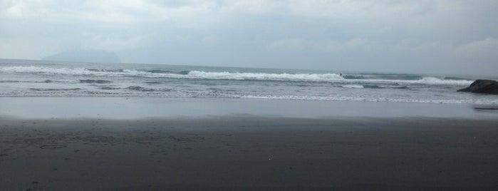 外澳沙灘 Wai'ao Beach is one of Taiwan.