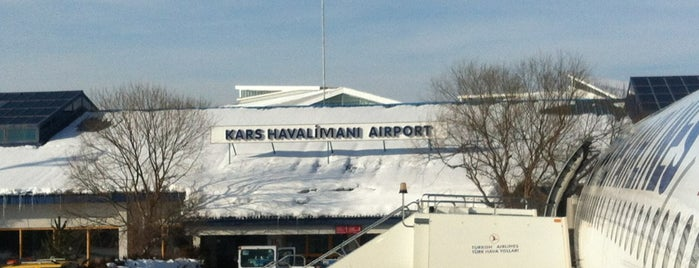 Kars Harakani Havalimanı (KSY) is one of Airports in Turkey.