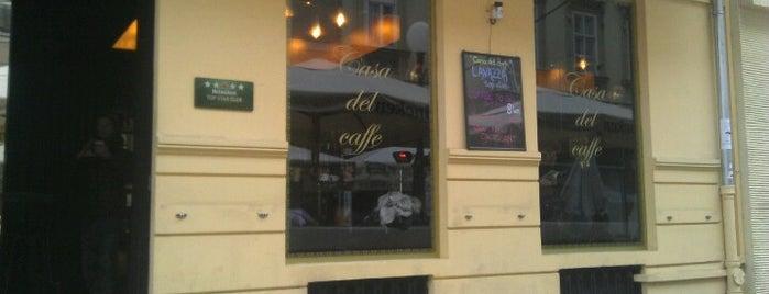 Casa del Caffé is one of Smoke free.