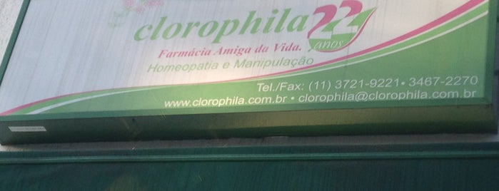 Clorophila Farmacia is one of Compras.