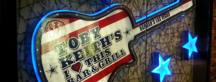 Toby Keith's I Love This Bar & Grill is one of Las Vegas.