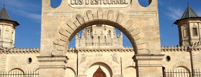 Château Cos d'Estournel is one of Caridad: сохраненные места.
