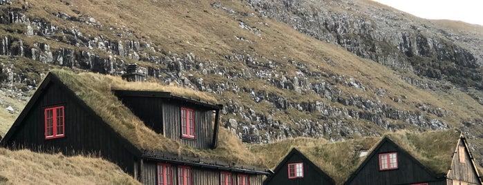 Kirkjubøargarður is one of Færøerne.