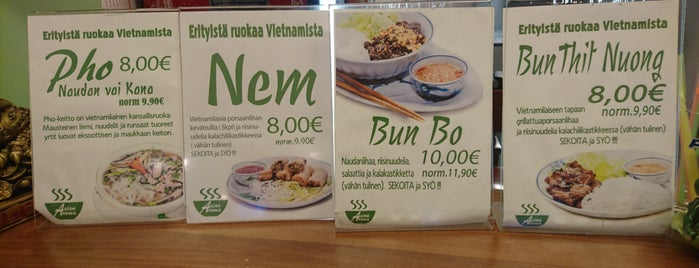 Asian Aroma is one of Favourite eats in Helsinki.