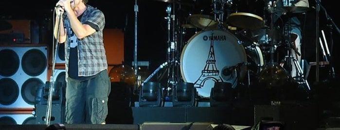 Pearl Jam - Lightning Bolt Tour - Brasília is one of Denise'nin Beğendiği Mekanlar.