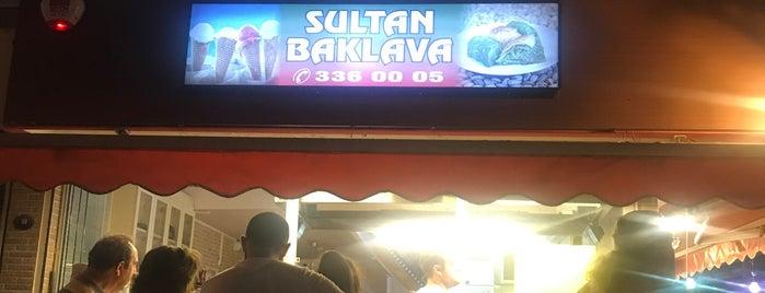 Sultan Baklava & Dondurma is one of İzmir deki mekanlar.