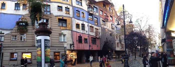 Hundertwasserhaus is one of wien.