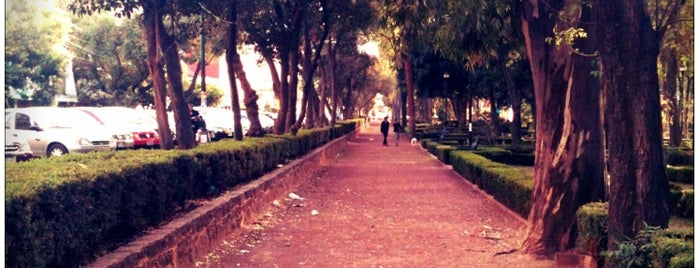Parque Arboledas is one of Some best places of Mexico City..