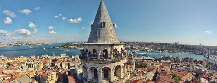 Menara Galata is one of 10 Local Things to Do in Istanbul.