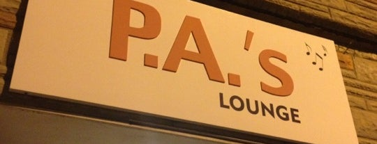 PA's Lounge is one of B R O S T O W N.
