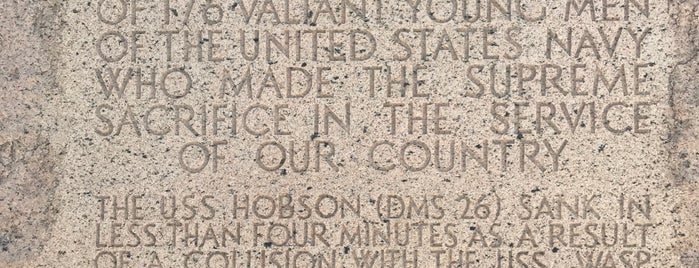 USS Hobson Memorial is one of South Carolina.