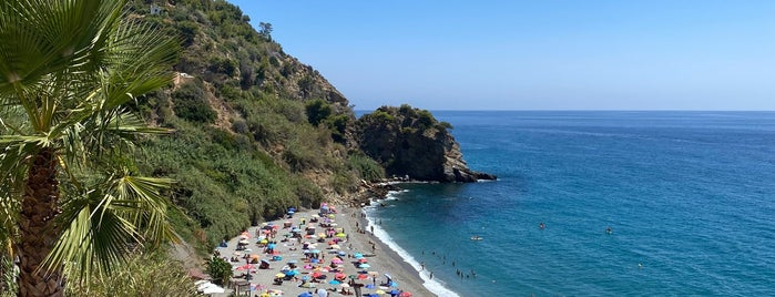 Playa de Maro / Molino de Papel is one of Lugares guardados de Anıl.