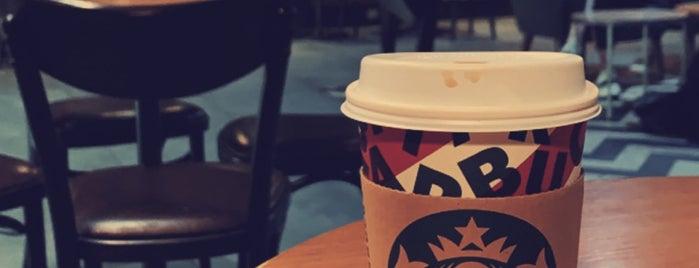 Starbucks is one of Locais curtidos por Khalid.