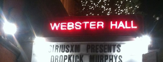 The Studio at Webster Hall is one of Venues.