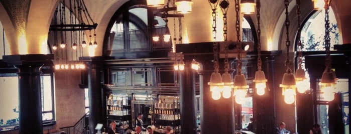 The Wolseley is one of London calling.