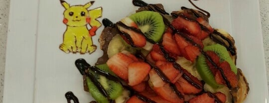 Ege Waffle is one of สถานที่ที่บันทึกไว้ของ Emre.
