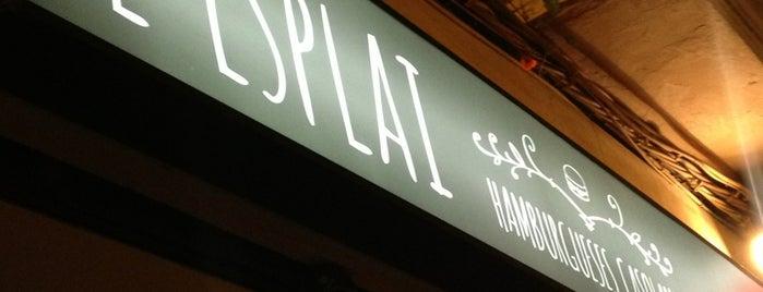 L'Esplai Hamburgueses Casolanes is one of Restaurantes con encanto ^^.