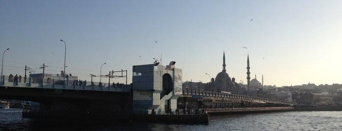 Galata Köprüsü is one of Istanbul.