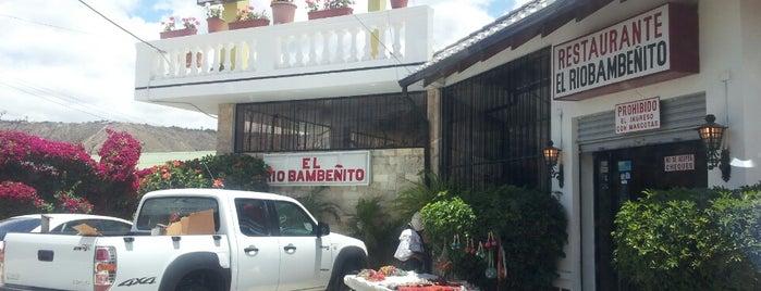 El Riobambeñito is one of สถานที่ที่ Paola ถูกใจ.