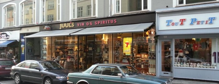 Juul's Vin og Spiritus is one of Copenhagen.