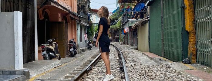 Hanoi Street Train is one of Vietnam.