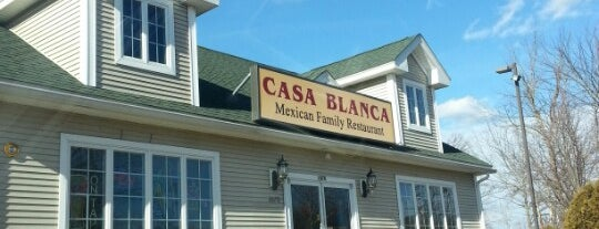 Casa Blanca Mexican Restaurant is one of Local Spots to Checkout.