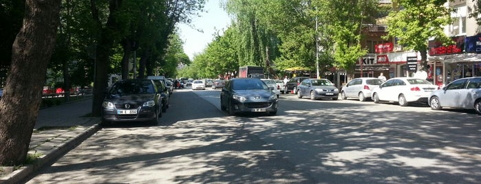 8. Cadde is one of Ankara.